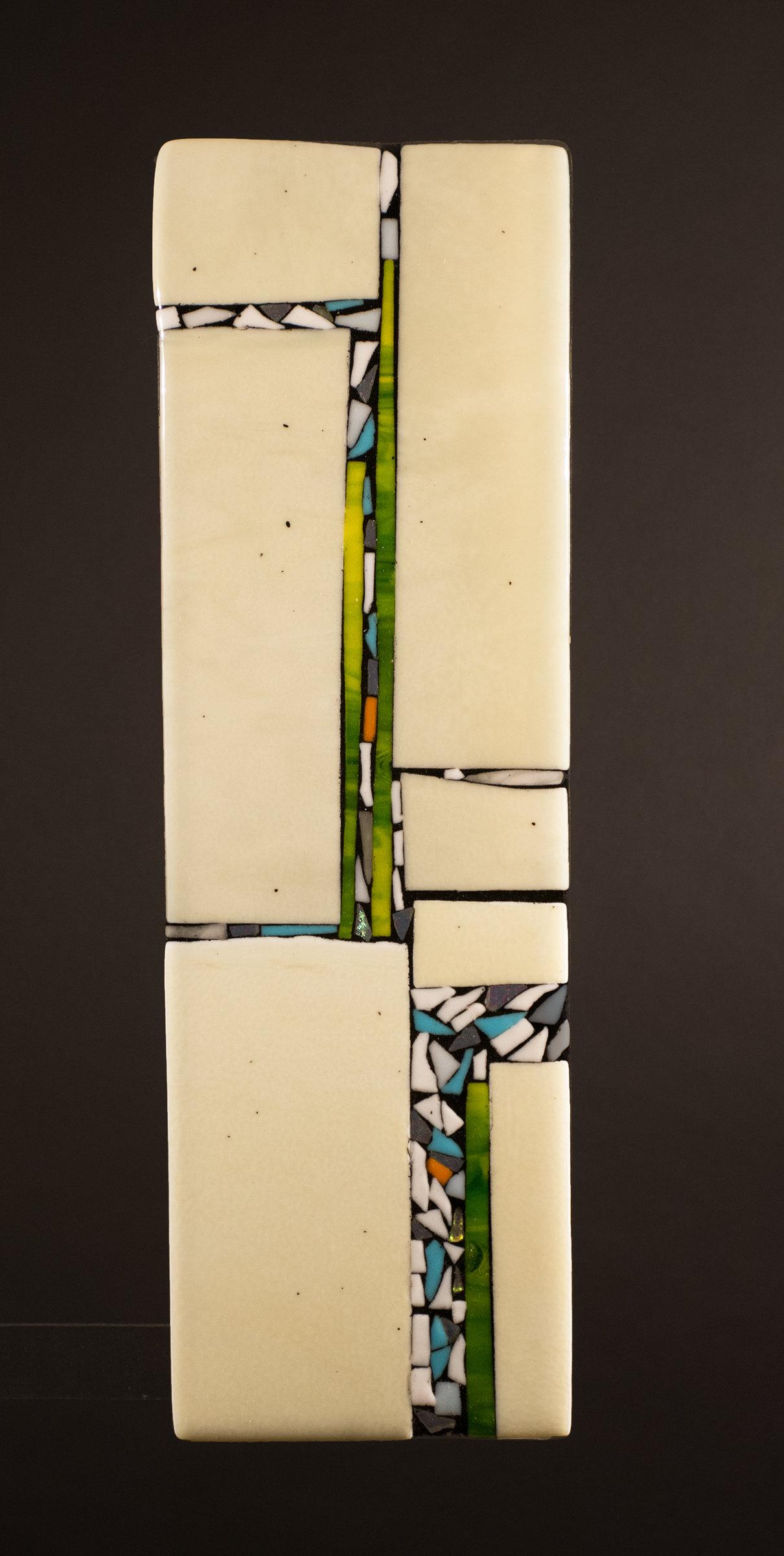 Direction II by Vicky Kokolski and Meg Branzetti (Art Glass Wall ...