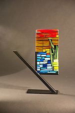 Mini Garden by Vicky Kokolski and Meg Branzetti (Art Glass Sculpture)
