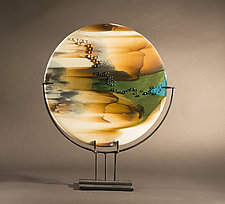 Reactions XX by Vicky Kokolski and Meg Branzetti (Art Glass Sculpture)
