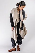 Trip to Paris Trench Coat by Artists and Revolutionaries (Linen Jacket)