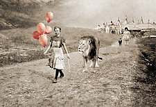The Lion Tamer by Kate Harrold (Giclee Print)
