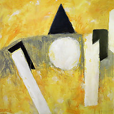Tipping Point by Jim Barker (Mixed-Media Painting)