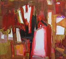 Interior by Jim Barker (Mixed-Media Painting)