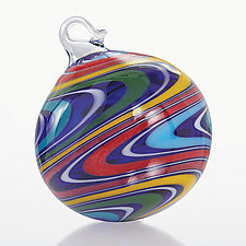 Spellbound by Dale Strand (Art Glass Ornament)