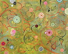 Climbing Hope II by Lisa Kesler (Acrylic Painting)