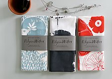 Nature's Gifts Tea Towel Set by PilgrimWaters  (Cotton Tea Towel)