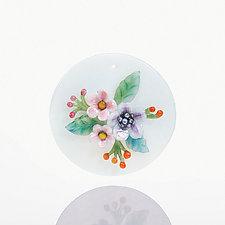 Victoriana by Kari Russell-Pool (Art Glass Ornament)