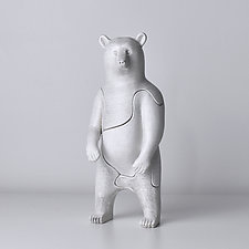 Bear by Locknesters (Polymer Puzzle Sculpture)
