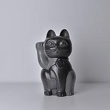 Maneki-Neko by Locknesters (Polymer Puzzle Sculpture)