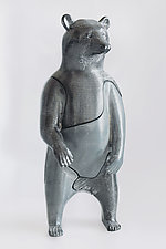 Bear by Locknesters (Polymer Sculpture)