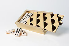 Curves Domino Set by Wolfum (Wood Game)