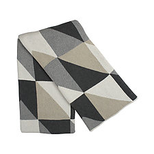 Angles Eco Throw by Karrie Dean (Cotton & Acrylic Blanket)