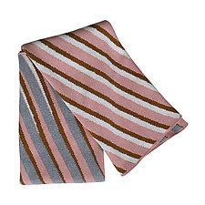 Sliding Stripes Eco Throw by Karrie Dean (Cotton & Acrylic Throw)