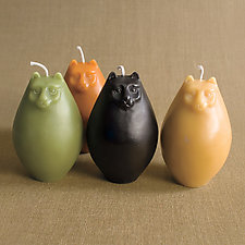 Cat Candle by Greentree Home Candle (Beeswax Candle)
