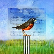 BirdSong by Patricia Barry Levy (Pigment Print)