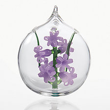 Hyacinth by Dan Albrecht (Art Glass Ornament)