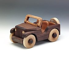 Jeep by Baldwin Toy Co. (Wood Sculpture)