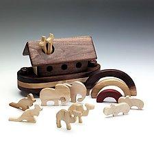 Rainbow Ark by Baldwin Toy Co. (Wood Sculpture)