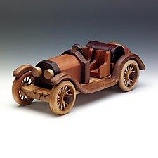Stutz Bearcat by Baldwin Toy Co. (Wood Sculpture)