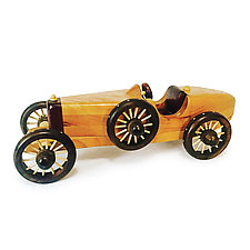 Racer by Baldwin Toy Co. (Wood Sculpture)