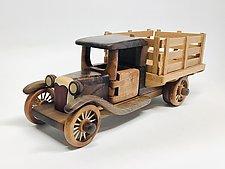 Farm Truck by Baldwin Toy Co. (Wood Sculpture)