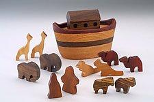 Mini Ark by Baldwin Toy Co. (Wood Sculpture)