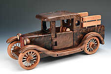 Pickup by Baldwin Toy Co. (Wood Sculpture)