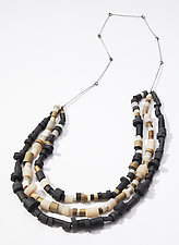 Cipher Necklace by Genevieve Williamson (Polymer Necklace)
