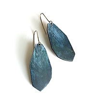 Coastline Earrings by Genevieve Williamson (Polymer Clay Earrings)