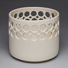 Lace Top Bowl by Lynne Meade (Ceramic Bowl)