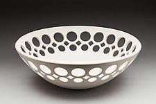 Open Work Bowl by Lynne Meade (Ceramic Bowl)