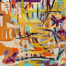 Bluff Choo Choo Rock III by Marion Kahn (Oil Painting)