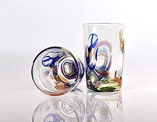 Maritime Party Cup by Peter Stucky and Dana Rottler (Art Glass Drinkware)