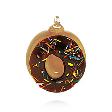 Good Morning! by Peter Stucky and Dana Rottler (Art Glass Ornament)