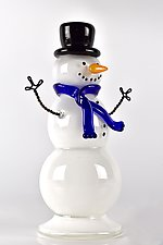 Snow People by Peter Stucky and Dana Rottler (Art Glass Sculpture)
