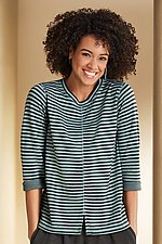 Madeline Reversible Top by Iridium (Knit Top)