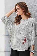 Crescent Sweatshirt by Kiyo (Knit Top)