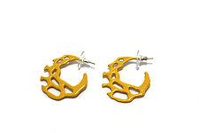 Wild Hoop Earrings by Tamar Navama (Steel Earrings)