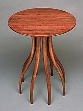 Walnut Side Table by Blaise Gaston (Wood Side Table)