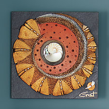Windows to the Earth Set by Vicki Grant (Ceramic Wall Sculpture)