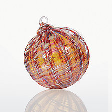 Heat Wave by Michael Richardson, Justin Tarducci, and Tim Underwood (Art Glass Ornament)