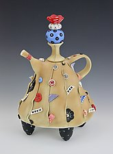 Would You Please? by Laura Peery (Ceramic Teapot)