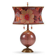 Mai by Susan Kinzig and Caryn Kinzig (Mixed-Media Table Lamp)