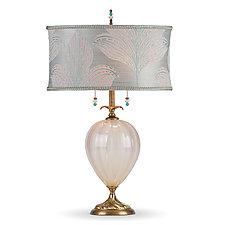 Emilia by Susan Kinzig and Caryn Kinzig (Mixed-Media Table Lamp)