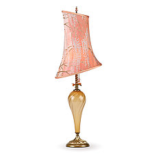 Liora by Susan Kinzig and Caryn Kinzig (Mixed-Media Table Lamp)