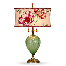 Mary Anne by Susan Kinzig and Caryn Kinzig (Mixed-Media Table Lamp)