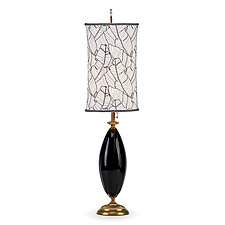 Molly by Susan Kinzig and Caryn Kinzig (Mixed-Media Table Lamp)