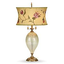 Ella II by Susan Kinzig and Caryn Kinzig (Mixed-Media Table Lamp)