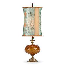 Liza by Susan Kinzig and Caryn Kinzig (Mixed-Media Table Lamp)