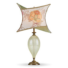 Viviana by Susan Kinzig and Caryn Kinzig (Mixed-Media Table Lamp)